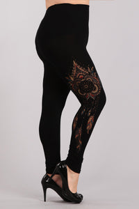 Plus Size - Dreamcatcher Leggings