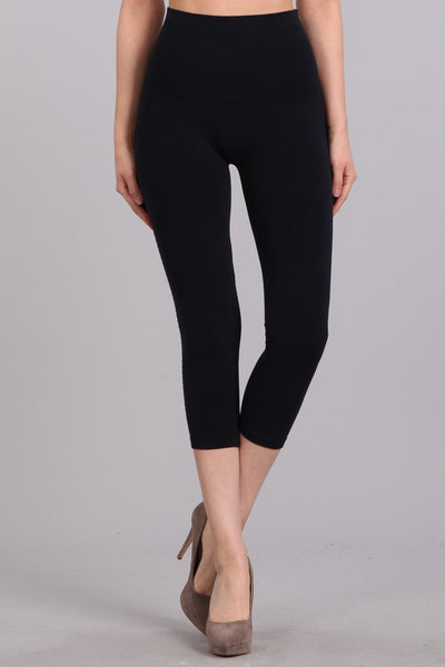 Tri-Gradient Burnout Cropped Tummy Tuck Legging