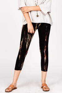 Floral Streaks Leggings