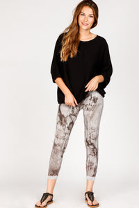 Floral Brushstrokes Leggings