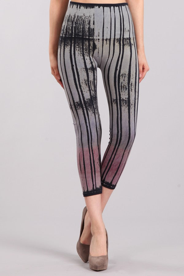 Ombre Brushstrokes Leggings