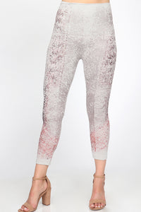 Tapestry Printed Leggings