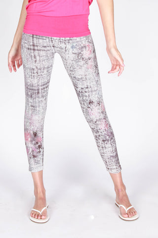 Plaid Garden Leggings