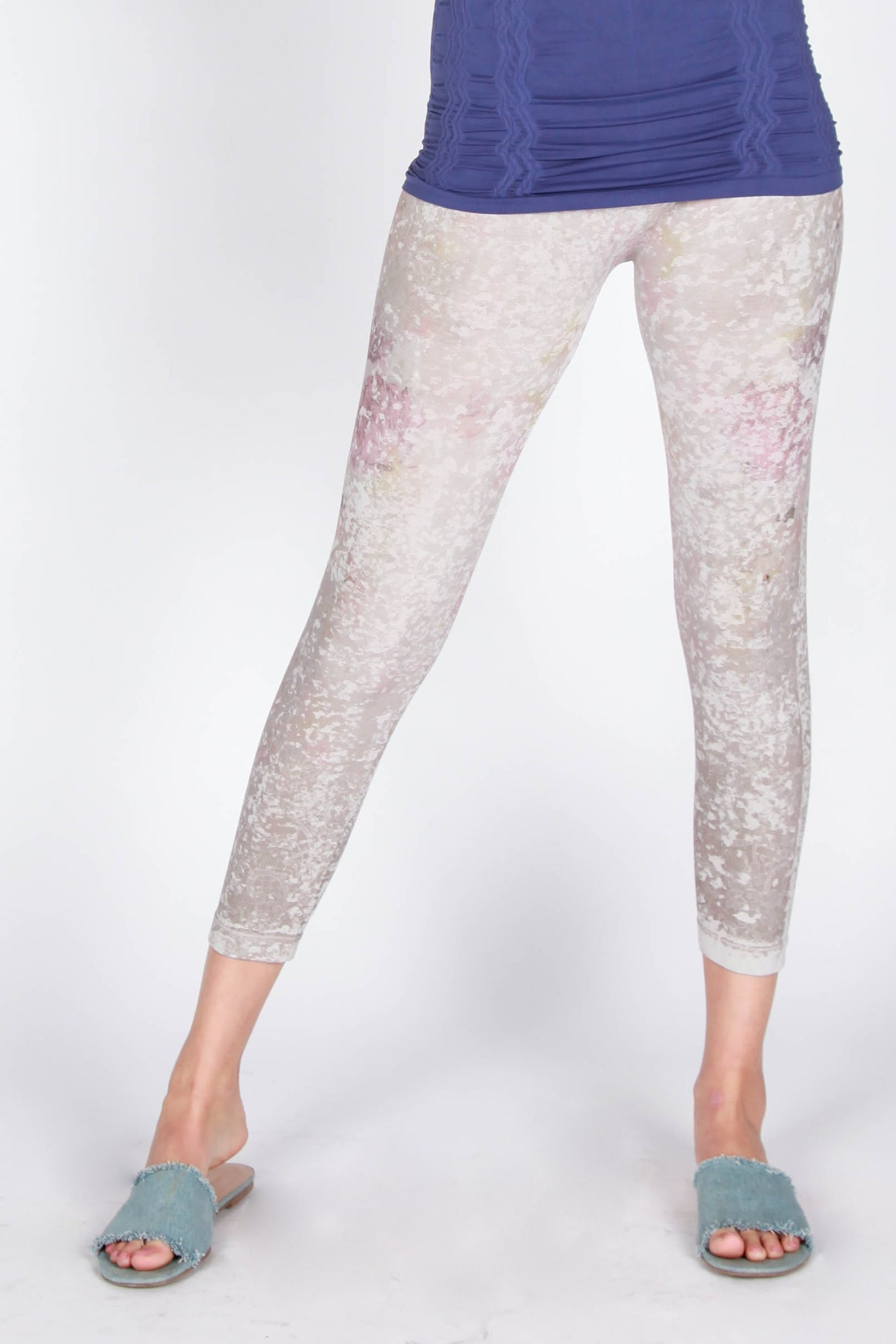 Watercolor Roses Leggings