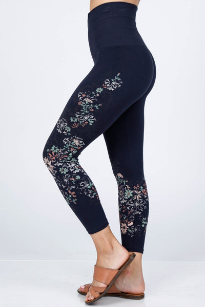 Ethereal Floral Print Leggings