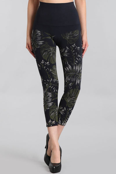 Palm Leaves Printed Leggings