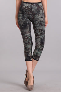 Jade Floral Leggings