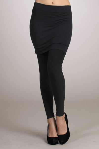 Full Length Skirt Legging