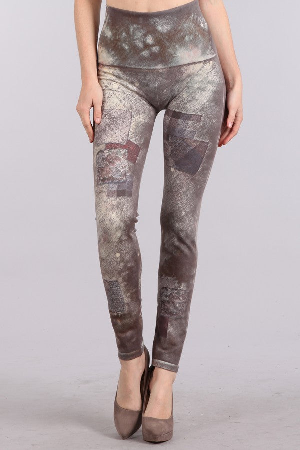 Painter's Patchwork Leggings
