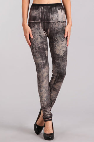 Washed Camo Leggings
