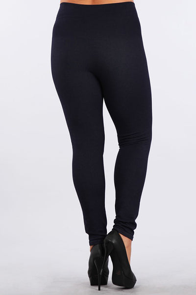 Plus Size - Tummy Tuck Jegging