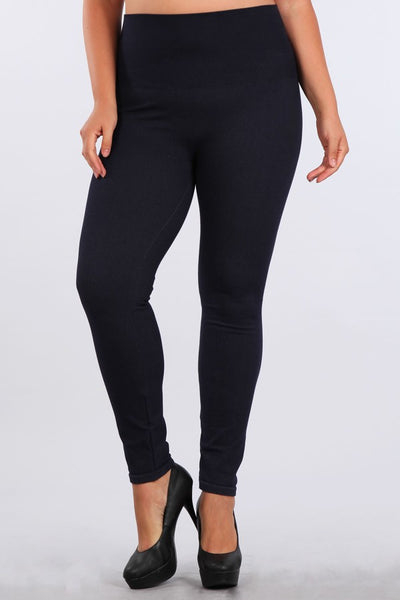 The Tummy Tuck Denim Jegging