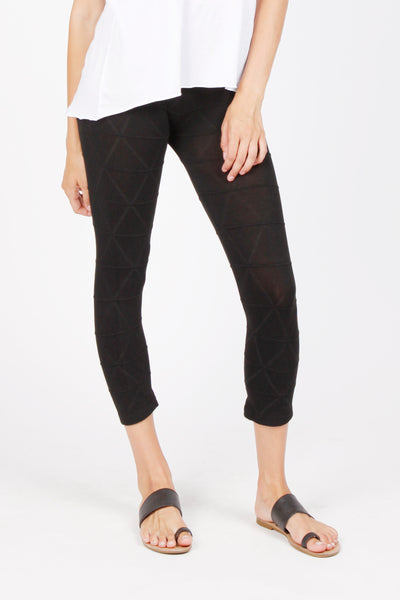 Geometrical Knit Leggings