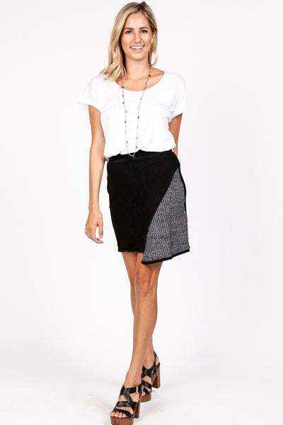 Asymmetrical Pencil Skirt