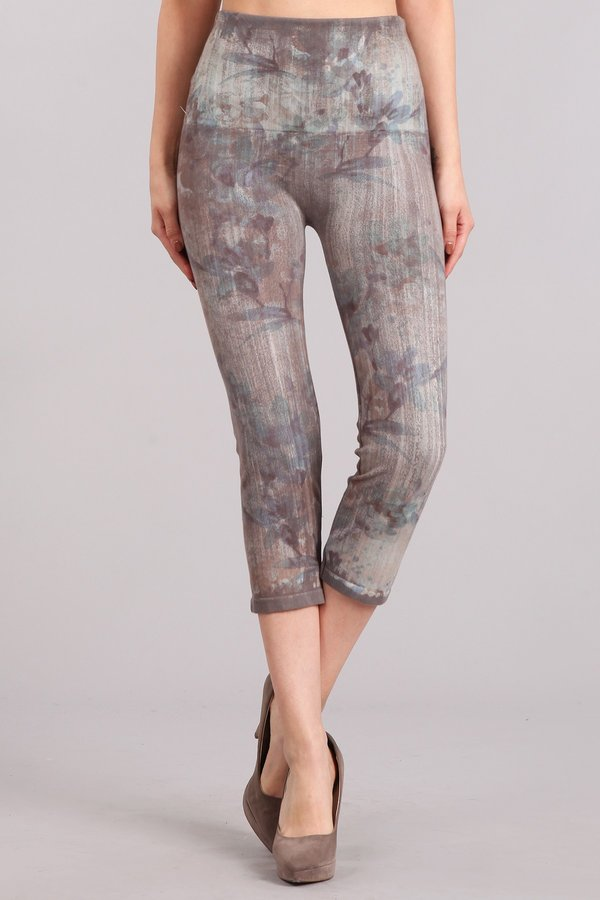 Misty Floral Leggings