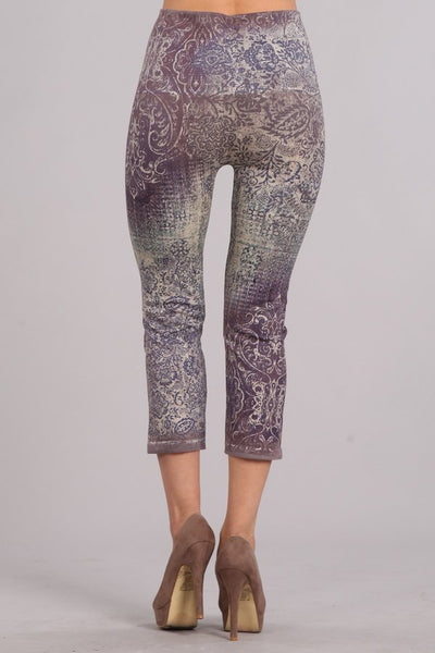 Vintage Paisley Leggings