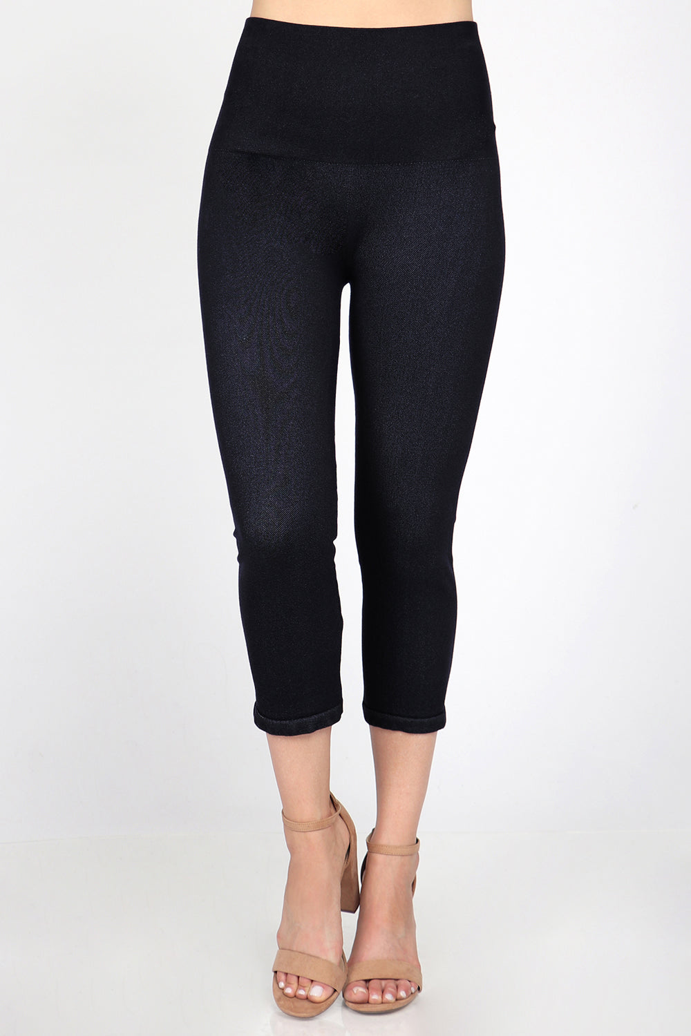 The Cropped Tummy Tuck Denim Jegging