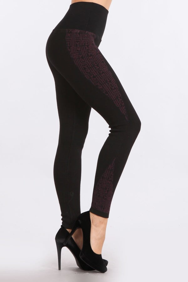 Cabin Fever Jacquard Sweater Leggings