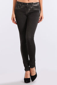 M Rena Black Mineral Washed Jeans