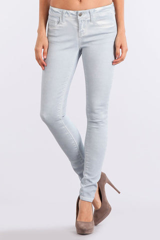 M Rena Light Blue Mineral Washed Jeans