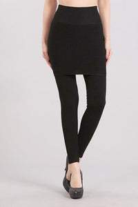 Full Length Combination Skirt Legging