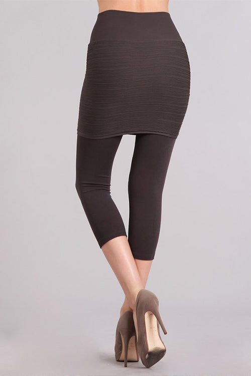 713dff8f25f14 Cropped Combination Skirt Legging · Cropped Combination Skirt Legging ...