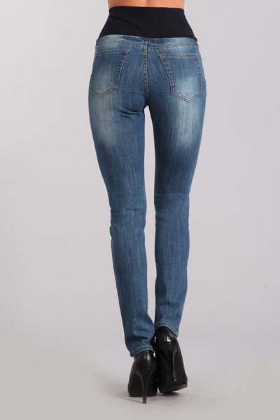 Linda Distressed High Waist Jeans