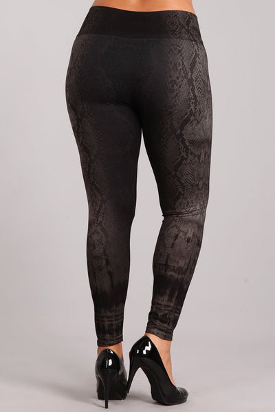 Plus Size - Ophidia Leggings
