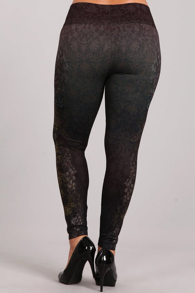 Plus Size - Pacific Mystique Leggings