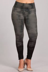 Plus Size - Ocean Mist Leggings