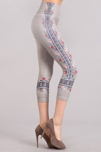 Rosie Border Print Leggings