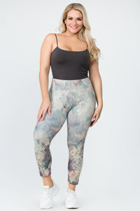 Psychedelic Florals Leggings
