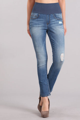 Favorite Ankle Length High Waist Jeans