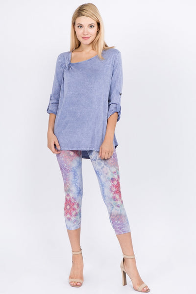 Kaleidoscope Cropped Leggings
