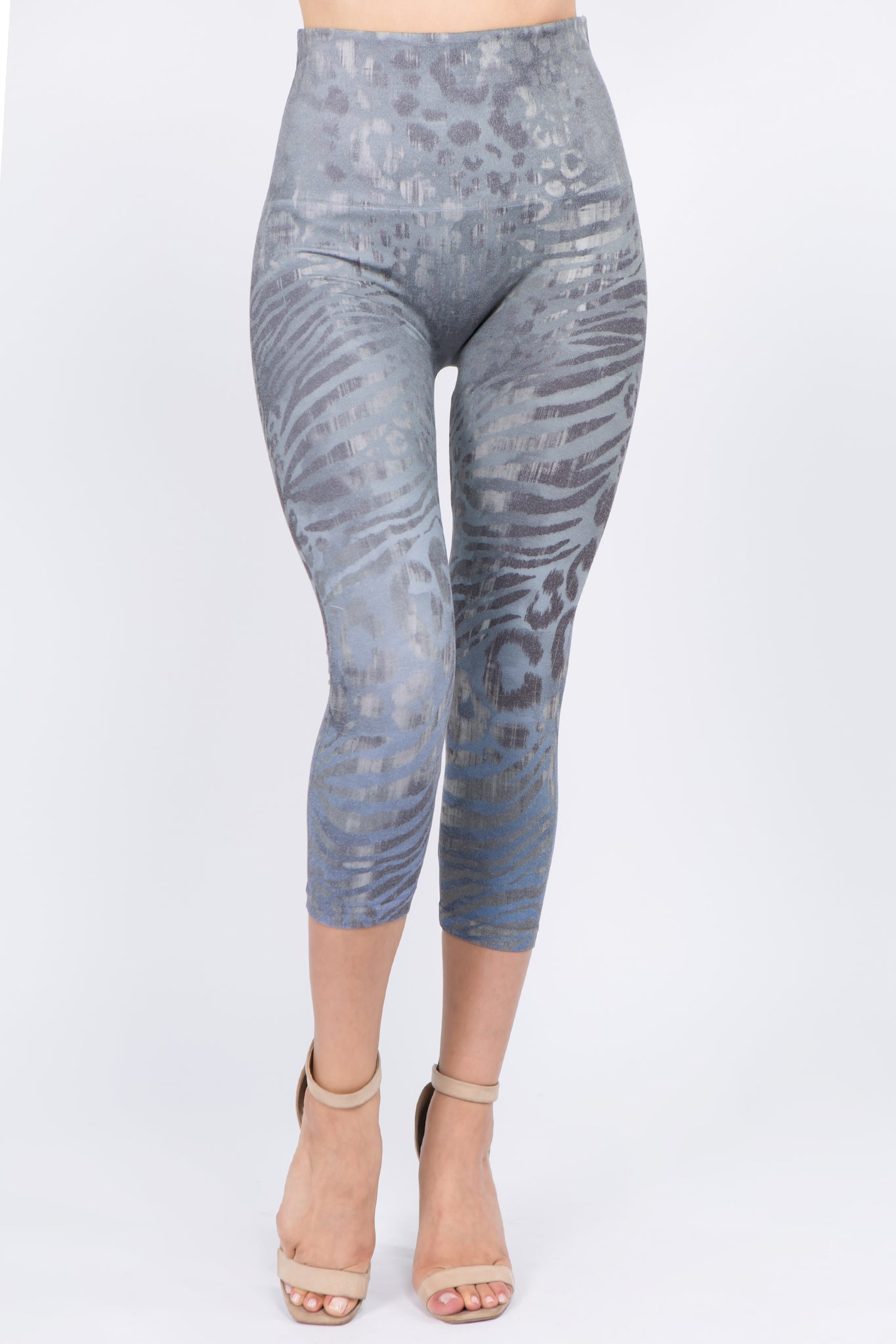 Wild Safari Cropped Leggings