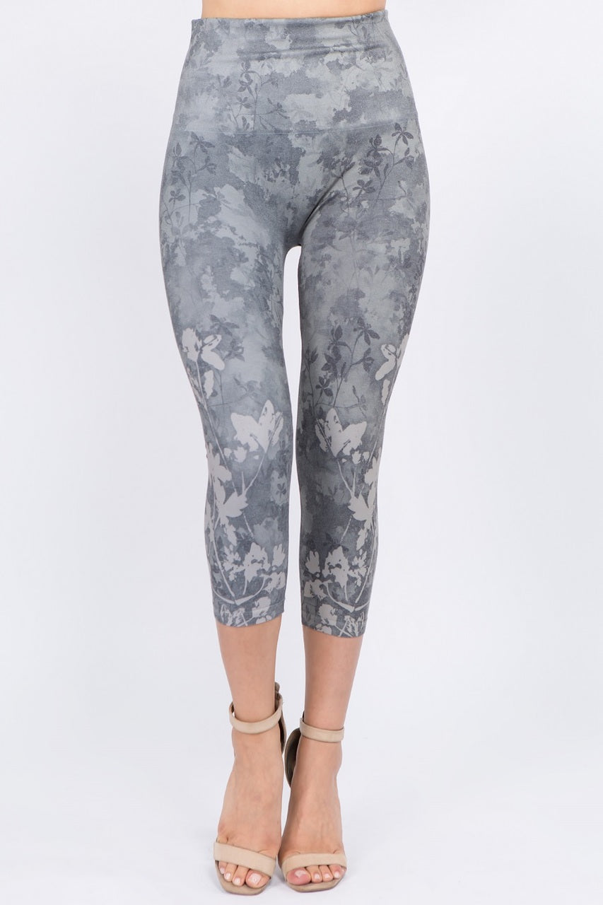Caelynn Floral Cropped Leggings