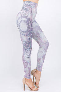 Mulberry Tie-Dye Leggings