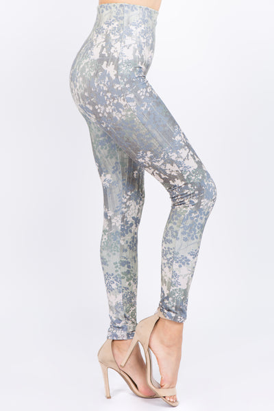 Agave Floral Leggings