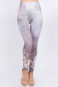 Flower Party Full Length Leggings