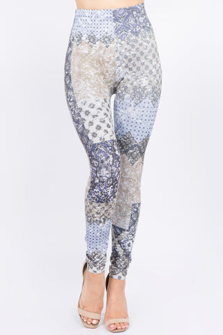 Ella Patchwork Leggings