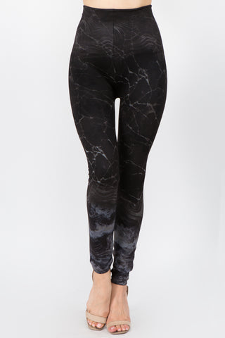 Marble Gemstone Leggings