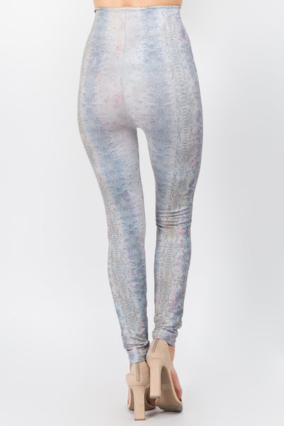 Subtle Snakeskin Leggings