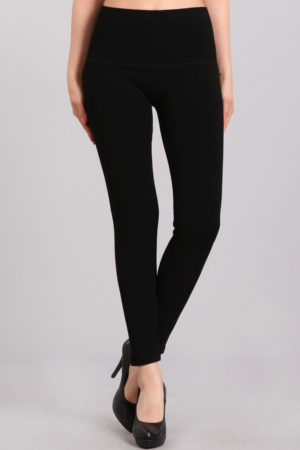 French Terry Lined Leggings