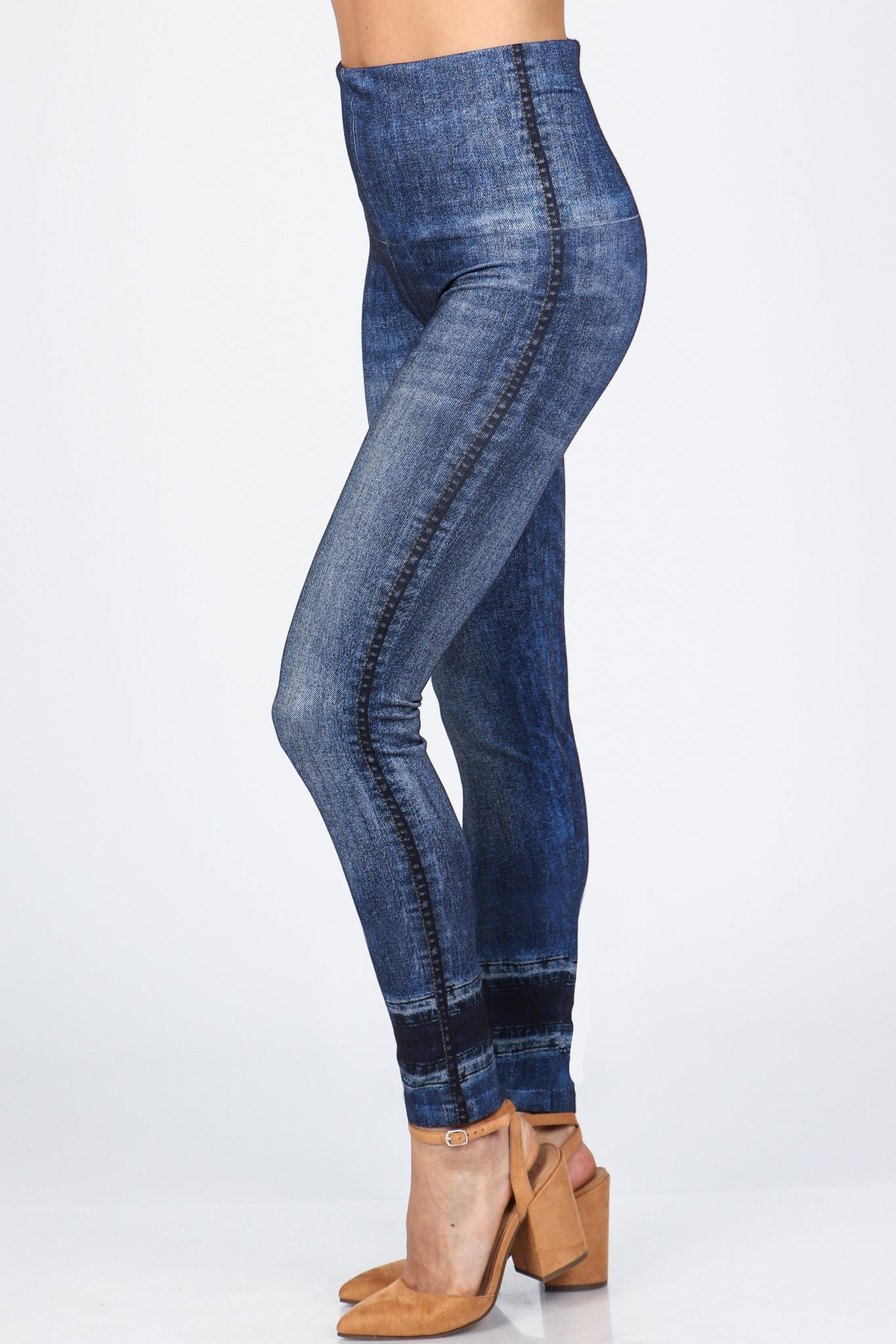 Denim Days Full Length Leggings