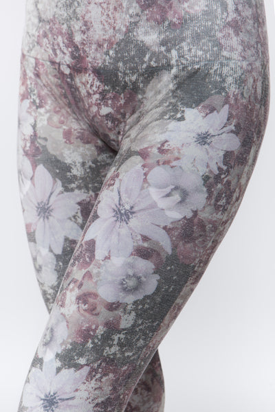 Patchwork Floral Lace Full Leggings