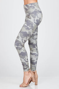 Jane Camo Print Leggings