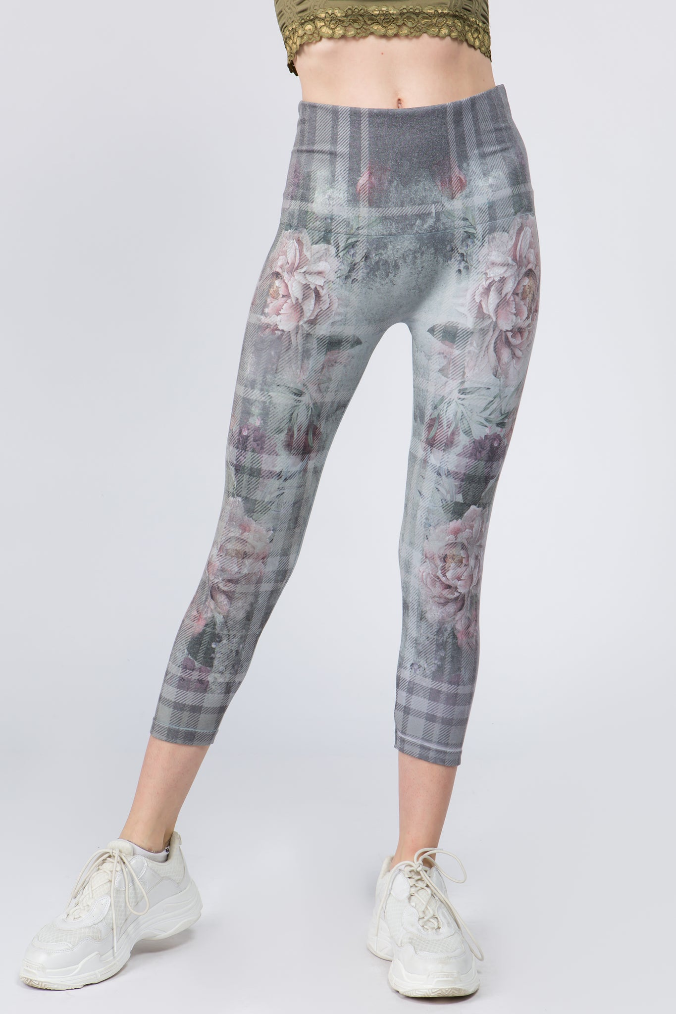Cropped Floral Bliss Leggings