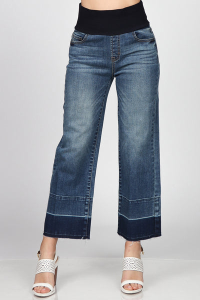 Flare Silhouette High Waist Jeans