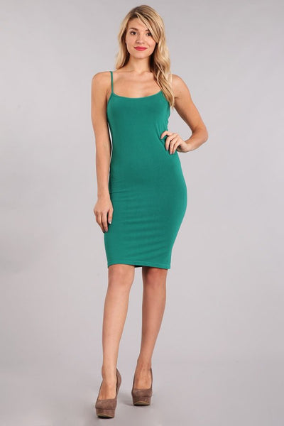Everyday Spaghetti Strap Dress - Colors