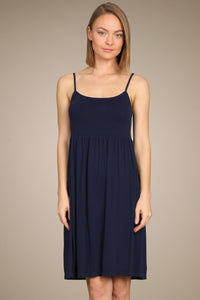 Ribbed Cami Babydoll Dress